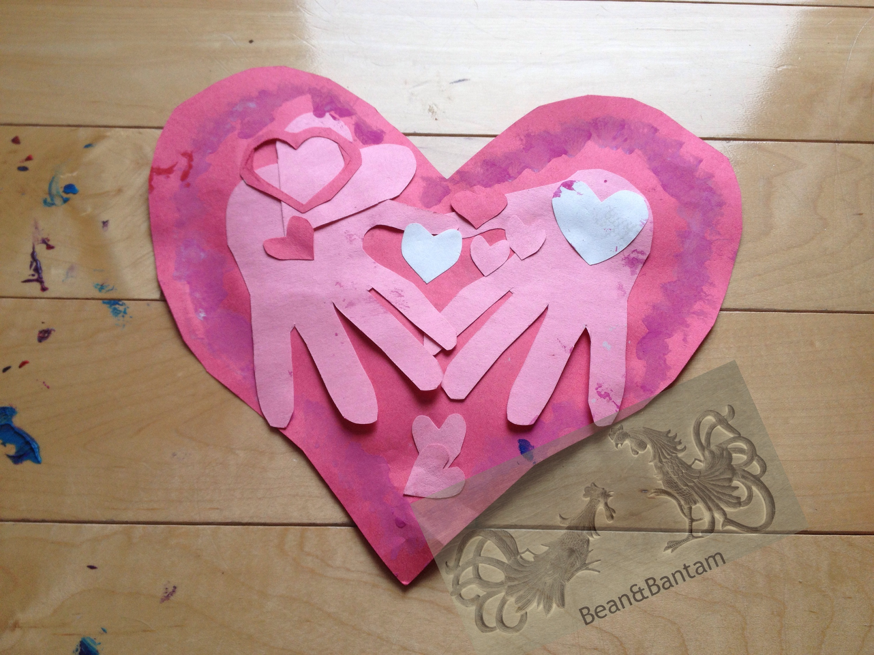 Messy Kid Fun: handmade valentines with a two and a half year old