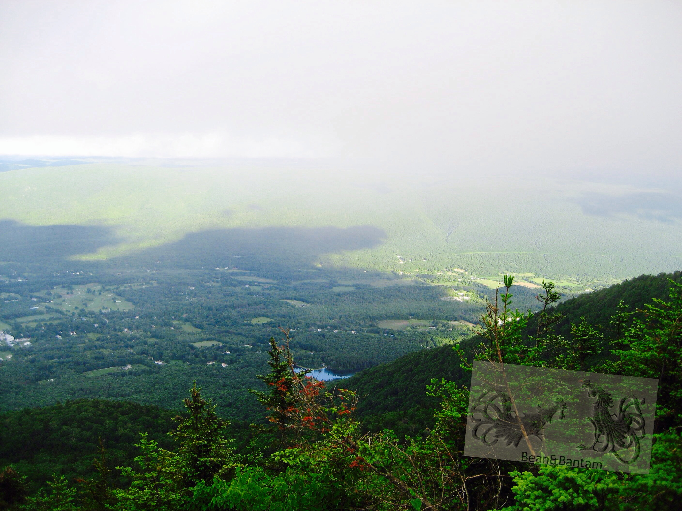 View from Lookout Rock, Mount Equinox, Manchester, Vermont